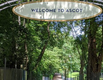 Welcome to Ascot Sign