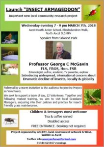 Invitation to LAUNCH NEW PROJECT INSECT ARMAGEDDON
