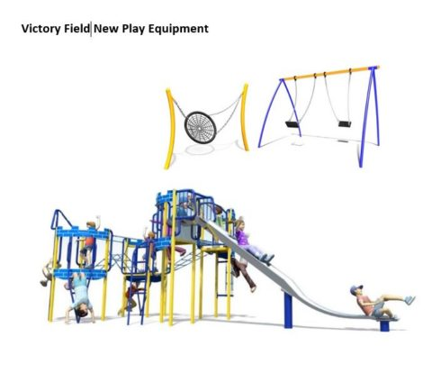 New Play Equipment at Victory Field