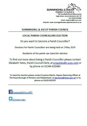 Parish Council elections are coming up on 2 May - find out more