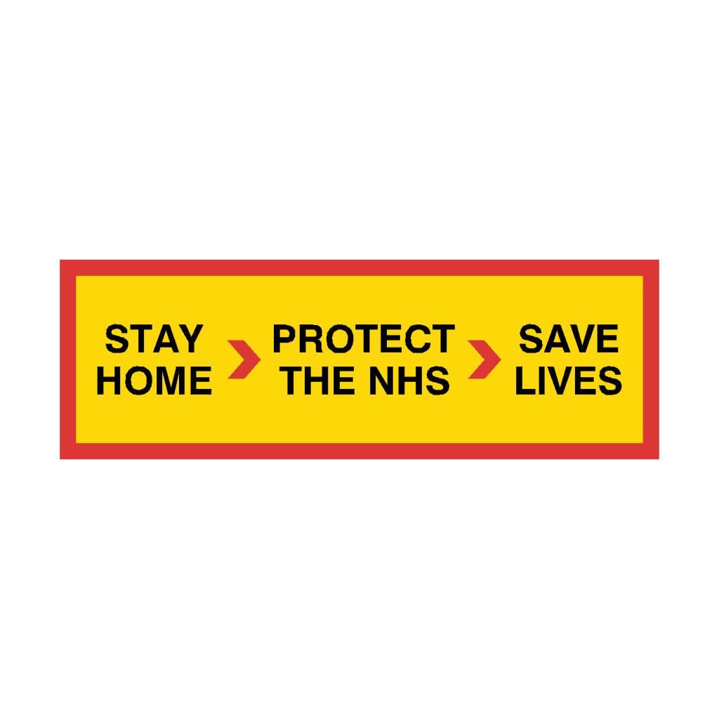 stay home protect the NHS image