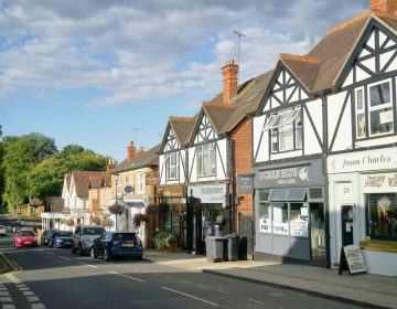 View of shops at Sunninghill