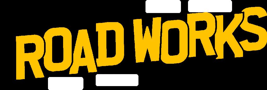 Road works image
