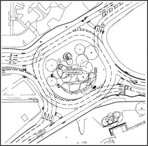 Heatherwood site map
