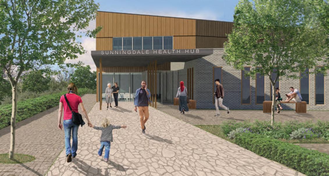 Sunningdale Health Hub Update