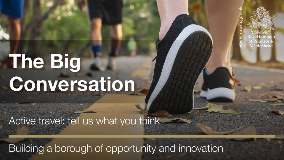 Join the Big Conversation on Active Travel
